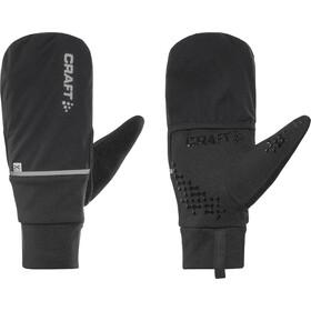 Craft Hybrid Weather Gloves black